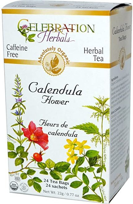 Celebration Organic Herbal Tea Calendula Flower  24 bags