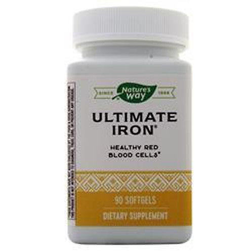 Nature's Way Ultimate Iron  90 softgels
