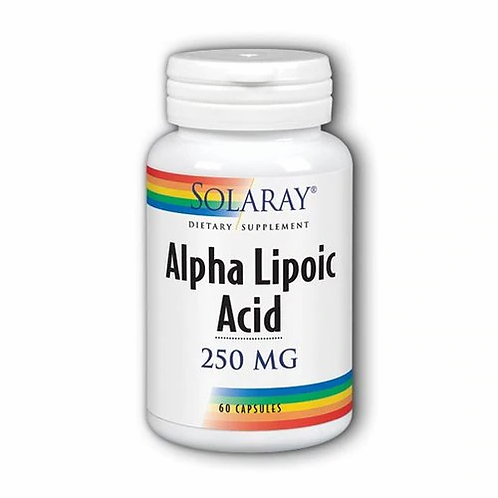 Solaray Alpha Lipoic Acid 250 mg  60 caps