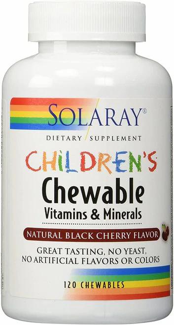 Solaray Children's Vitamins & Mineras Chewable  120 chews