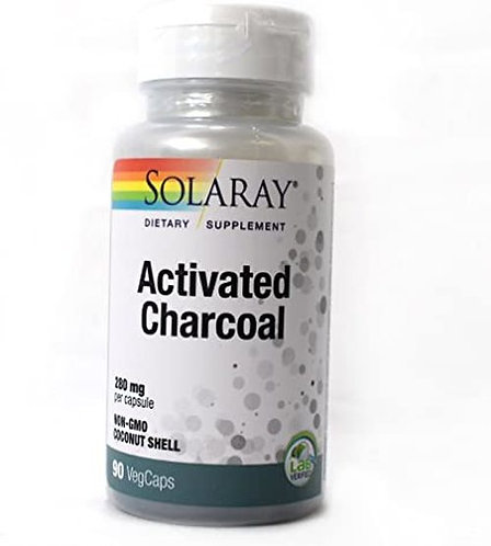 Solaray Activated Charcoal 280 mg  90 caps