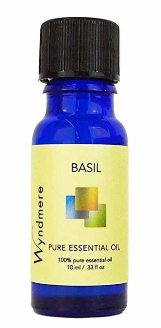 Wyndmere Naturals Pure Essential Oils Basil