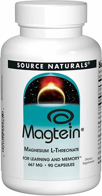 Source Naturals Magtein  90 caps