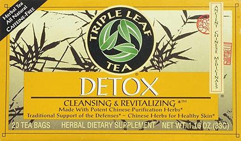 Triple Leaf Tea Detox  20 bags