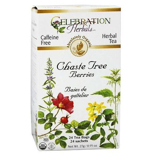 Celebration Organic Herbal Tea Chaste Tree Berries  24 bags