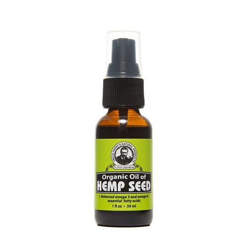 Uncle Harry's Organic Oil of Hemp Seed Pump  30 ml