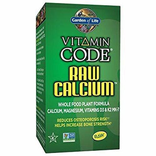 Garden of Life Vitamin Code RAW Calcium 60 caps