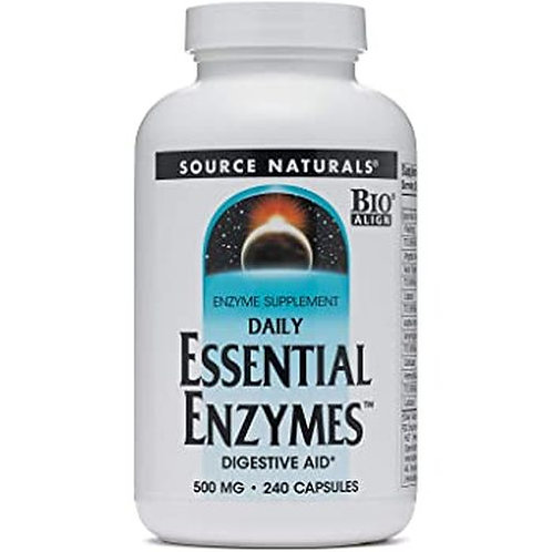 Source Naturals Essential Enzymes  240 caps