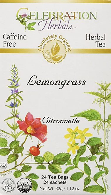Celebration Organic Herbal Tea Lemongrass  24 bags