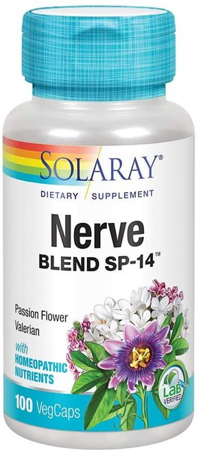 Solaray Nerve Blend SP-14 100 caps