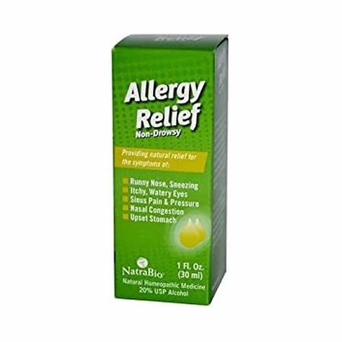 NatraBio Allergy Relief Non-Drowsy  30 ml