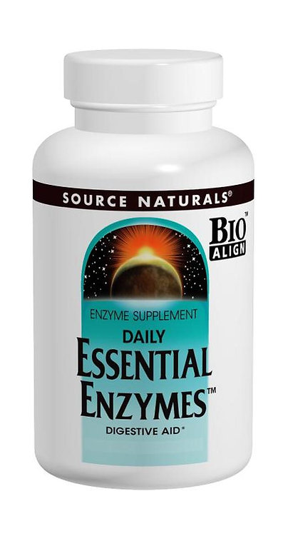 Source Naturals Essential Enzymes  60 caps