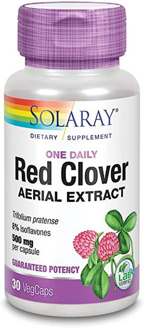 Solaray Red Clover Aerial Extract One Daily 500 mg  30 caps