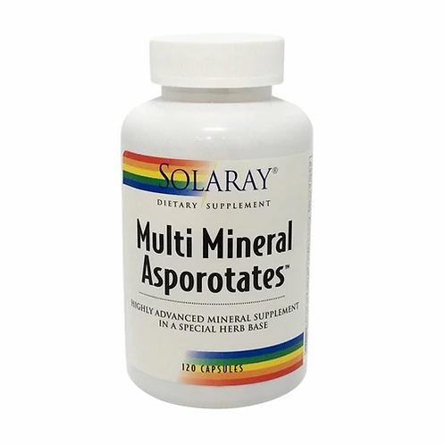 Solaray Multi Mineral Asporotates  120 caps