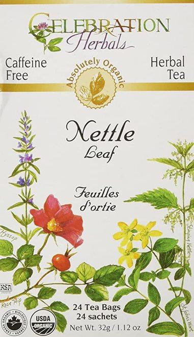 Celebration Organic Herbal Tea Nettle Leaf  24 bags