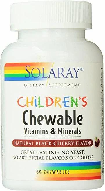 Solaray Children's Vitamins & Minerals Chewable  60 chews