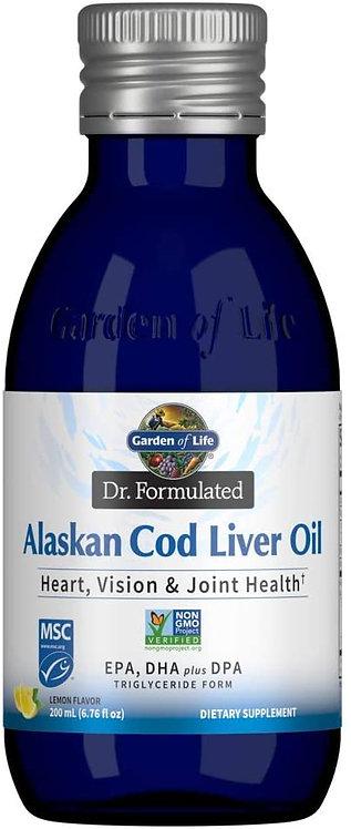 Garden of Life Dr. Formulated Alaskan Cod Liver Oil  Lemon 200 ml