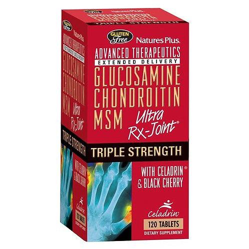 NaturesPlus Glucosamine Chondroitin MSM Triple Strength  120 tabs