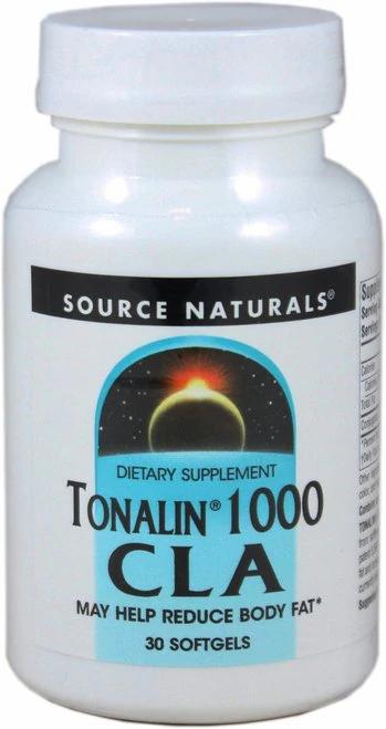 Source Naturals Tonalin 1000 CLA  30 softgels