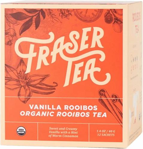 Fraser Tea Vanilla Rooibos  12 bags