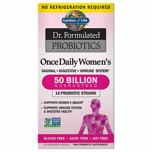 Garden of Life Dr. Formulated Probiotics Once Daily Women's 30 caps