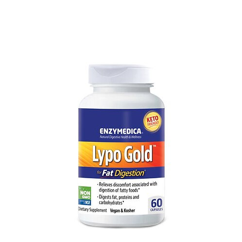 Enzymedica Lypo Gold for Fat Digestion  60 caps