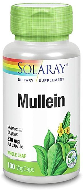 Solaray Mullein 330 mg  100 caps