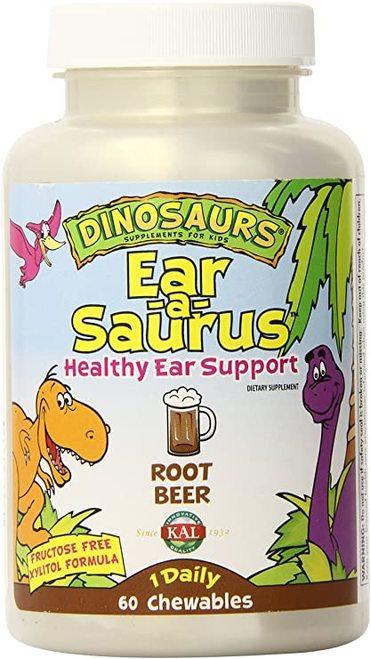 KAL Ear-a-Saurus Root Beer 1 Daily  60 chews