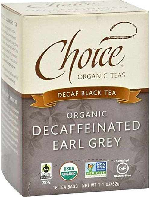 Choice Organic Teas Decaf Earl Grey  16 bags
