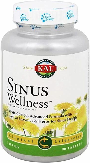 KAL Sinus Wellness 3 Daily  90 tabs