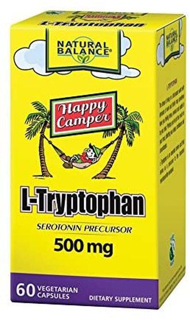 Natural Balance L-Tryptophan 500 mg  60 caps