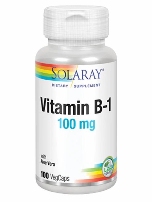 Solaray Vitamin B-1 100 mg 100 caps