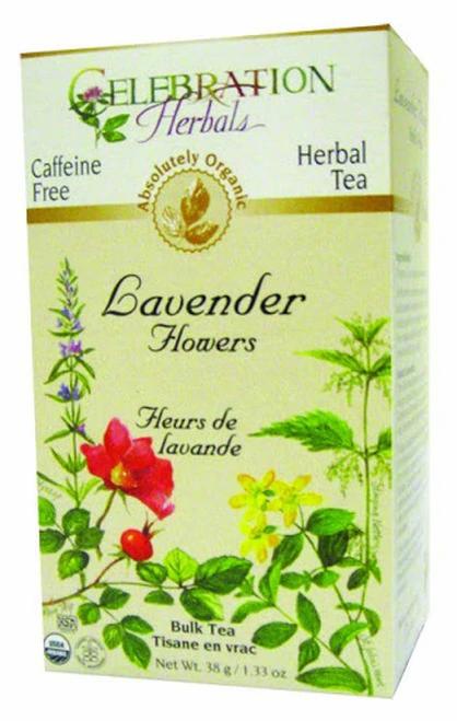 Celebration Organic Herbal Tea Lavender Flowers  38 g