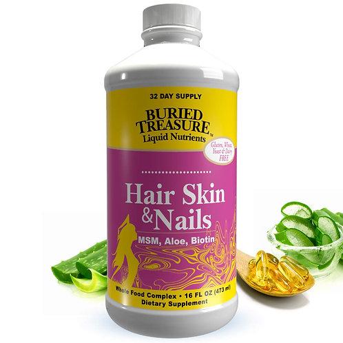 Buried Treasure Hair Skin  & Nails  473 ml