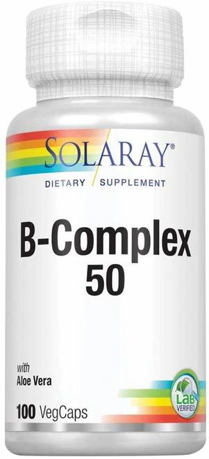 Solaray B-Complex 50 100 caps