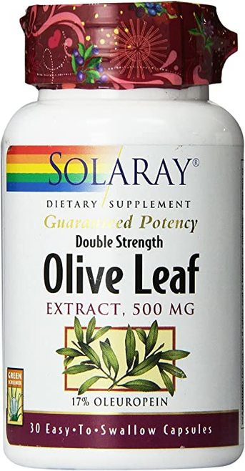 Solaray Olive Leaf Extract Double Strength 500 mg   30 caps
