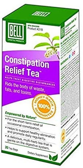 Bell Lifestyle Products Constipation Relief Tea  20 bags