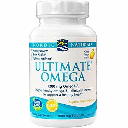Nordic Naturals Ultimate Omega 1280 mg Omega-3 60 ct