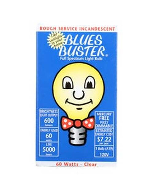 Blues Buster Full Spectrum Rough Service 60 W Frosted  1 ct