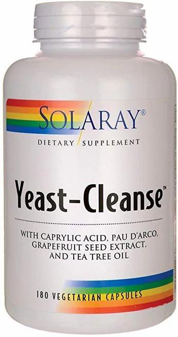 Solaray Yeast-Cleanse  120 caps