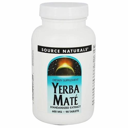 Source Naturals Yerba Mate  90 tabs