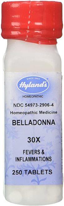 Hyland's Belladonna 30X  250 tabs