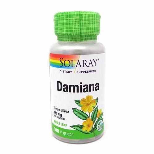 Solaray Damiana 370 mg  100 caps
