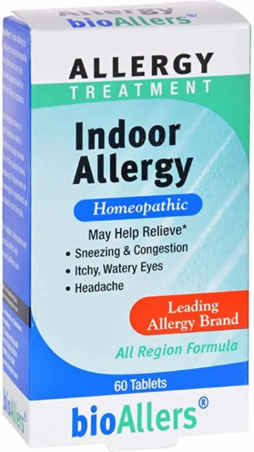 bioAllers Indoor Allergy  60 tabs