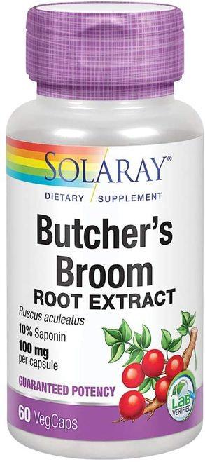Solaray Butcher's Broom Root Extract 100 mg  60 caps
