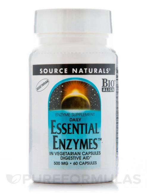 Source Naturals Essential Enzymes Vegetarian  60 caps