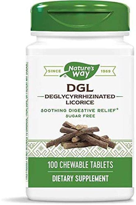 Nature's Way DGL Licorice  100 chews