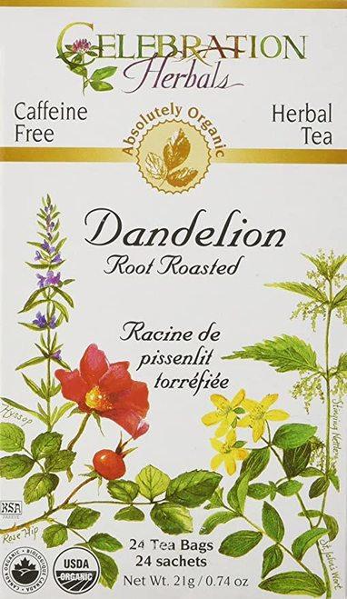 Celebration Organic Herbal Tea Dandelion Root Roasted  24 bags