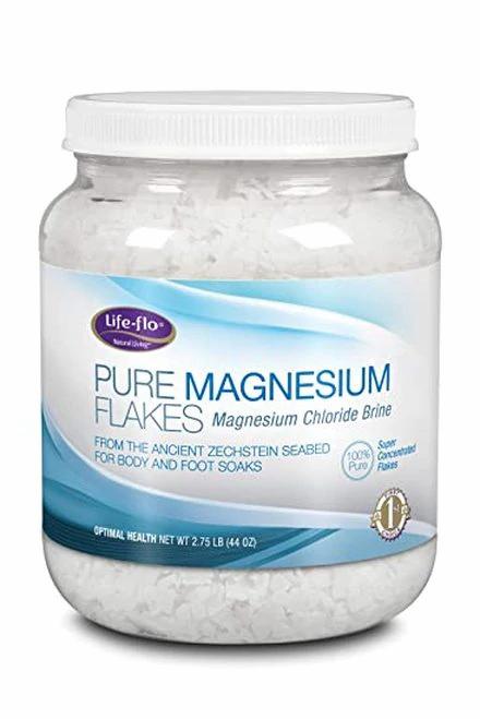 Life-flo Pure Magnesium Flakes  44 oz