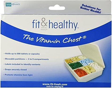 Fit & Healthy The Vitamin Chest  1 ct